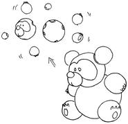 MM3 unused enemy (bear)