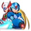 Zero and X back from Rockman X DiVE