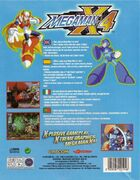Mega Man X4 (PC) (EU) back