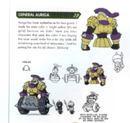 Concept art of General Auriga