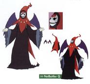 NetBattler Q concept art