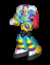 Burst-Man-Model