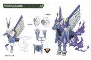 Concept art of Pegasus Magic
