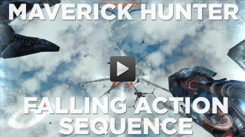 Unreleased Mega Man FPS Game Maverick Hunter Falling Sequence