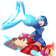 Dragalia Lost Mega Man and Rush