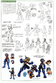 MegaMan - Early concept art