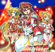 MegaManXMerryChristmas2006YoshihiroIwamotoIllustration