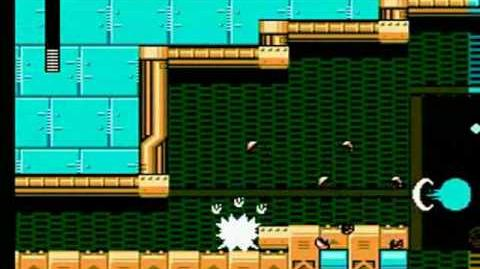 Mega Man 5 - Napalm Man Stage Weapons Factory