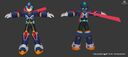 Rockman X Dive MMXCM New Armor 3D Model