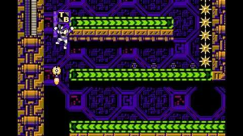 "Wii Mega Man 10 (USA) ""Bass, Hard Mode"" in 28 18"