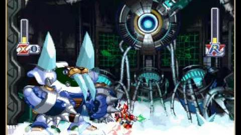 Frost Walrus Battle As Zero Megaman X4