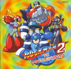 Rockman2- ThePowerFighters CDCover