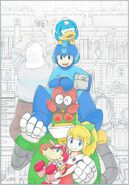 Rockman 11 Production Note cover art