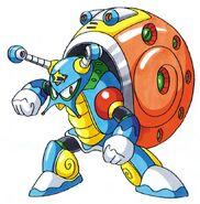 MMX2 Crystal Snail B