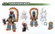 C.F. TomahawkMan - Dingo concept art.