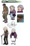 Seniors NPC concept art