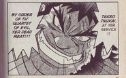 Takeo Inukai in NT Warrior manga