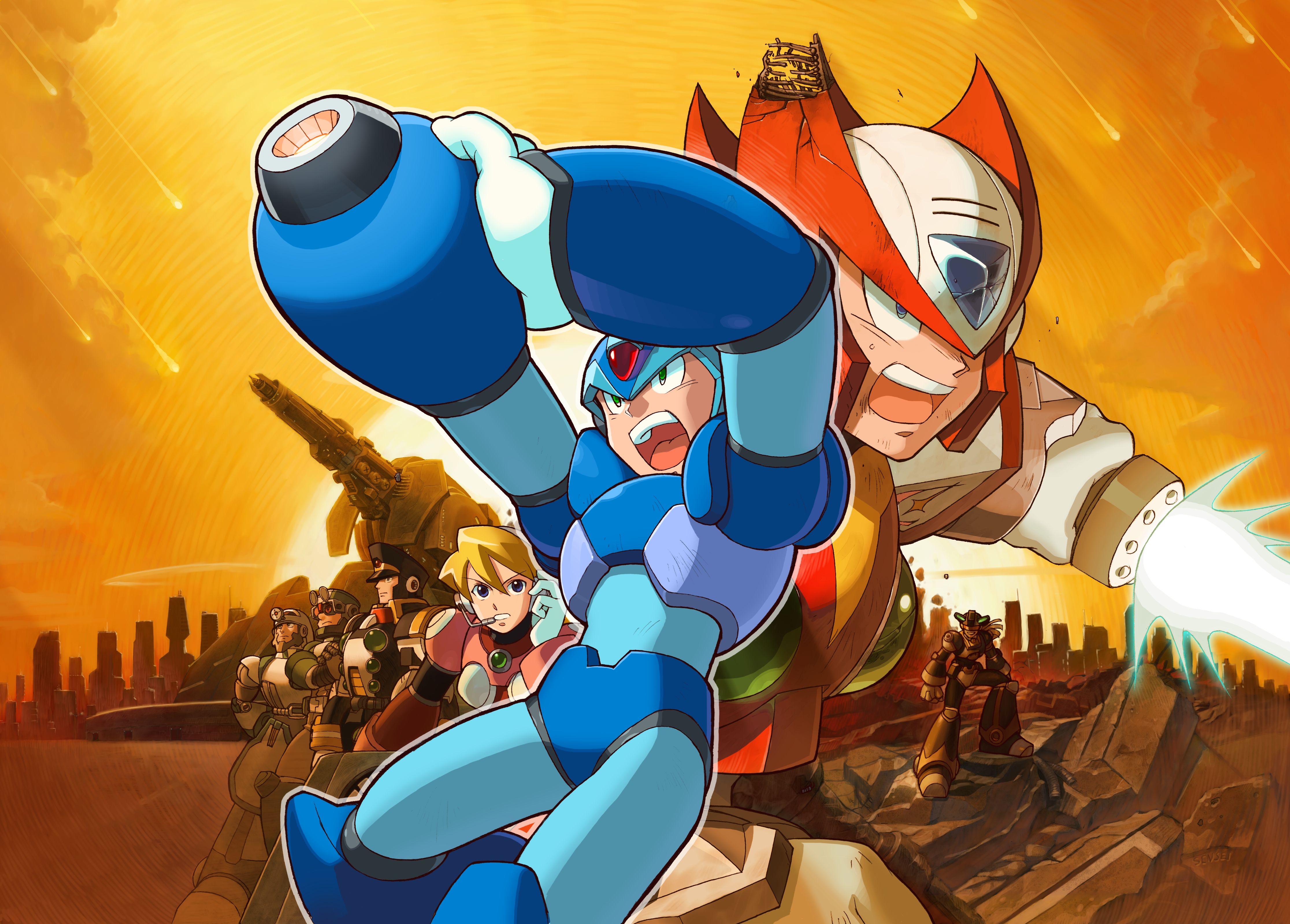 Mega man cartoon intro youtube