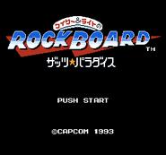 RockBoard Title Screen