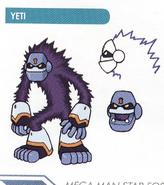 Concept art of Yeti