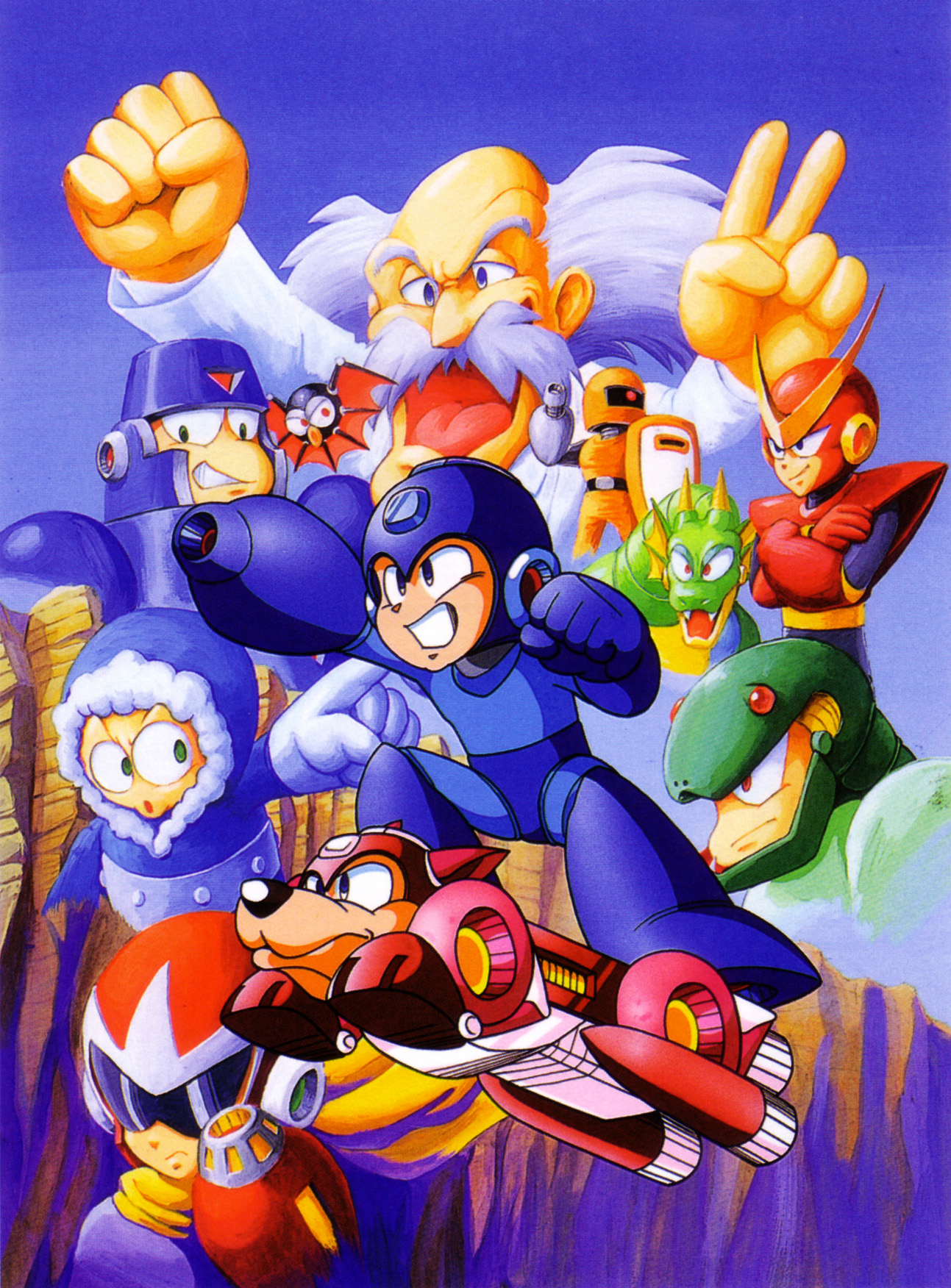 mega man 2 the power fighters rom