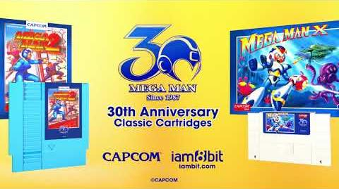 Mega Man - 30th Anniversary Classic Cartridges