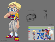 Mega Man Fully Charged Peter Concept A