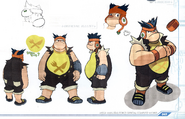 Concept art of Official Illust - Bud Bison