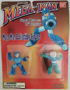 Bandai Ruby-Spears Mega Man and Iceman
