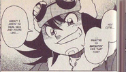 Tora in NT Warrior manga