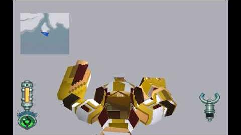 MegaMan Legends 2 - Camouflage MegaMan Cheat Code Model Hack