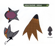 Concept art of Sickle Feather - Spread