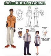 NPC - Official Personnel concept art
