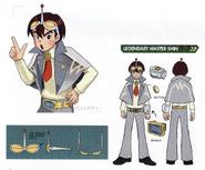 Concept art of Legendary Master Shin