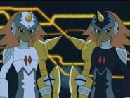 Gemini Spark in anime