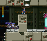 MMX3 Head Chip Capsule location