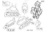 Lan Hikari - Sketch 6