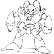 MM3 Doc Robot concept