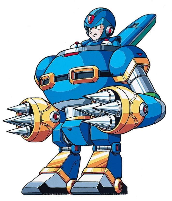 Image result for mega man x rabbit armor gif