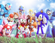 Sonic The Hedgehog -275 (variant 4) art