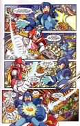 Mega Man X Comic scan