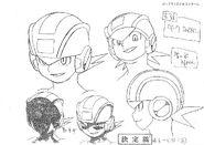 Dark MegaMan.EXE - Sketch
