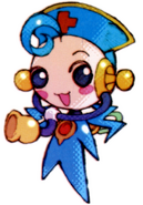 MMZ Cyber-elf Nurse (Blue) (Small)