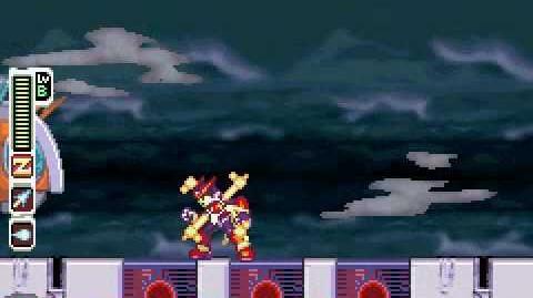 Megaman Zero 2 VS Tentolancer (No Damage)