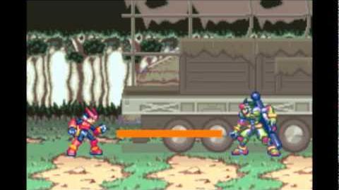 ロックマンゼロ4 (Rockman Zero 4) - クラフト (Craft) ボス