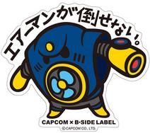 CAPCOM × B-SIDE LABEL Sticker Rockman Airman
