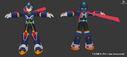 Rockman X DiVE - CM X model