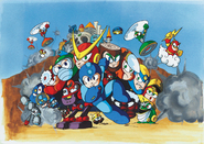 Rockman 2 package art