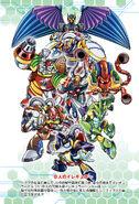 Rockman X The Novel - Cast 3