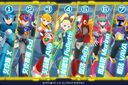 The playable characters in Rockman X Dive